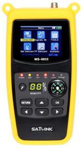 MIERNIK SATELITARNY DVB-S WS-6933 SATLINK - 2843803013