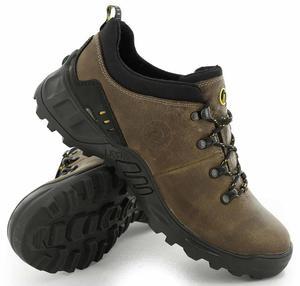 LESTA Obuwie Sportowe Trekking LE-3512-B - Beżowy - 2597647079