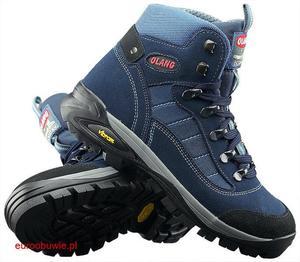 OLANG Obuwie Sportowe Trekking OL-TARVISIO-K-82 - Granatowy - 2597647259
