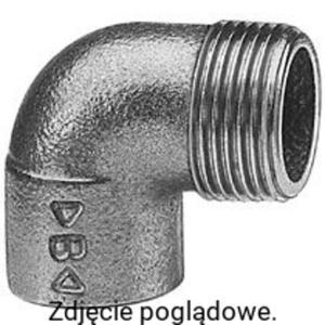 Kolano 90 z gwintem zewnętrznym brąz 22x3/4 CONEX 4092G022006000 - 2855555425