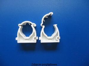 Uchwyt zamykany UZE-16, biały (100 szt.) ONNLINE UZE-16B - 2855555571