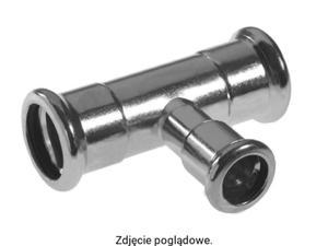 Trójnik redukcyjny press 28x15x28 (steel) KAN 620262.5 - 2881091138