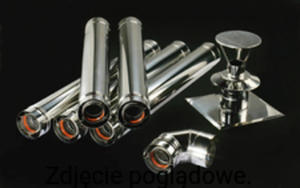 Pakiet kominowy DN 80/125 do kotłów ONNLINE ONSZACHT80125 - 2876681412