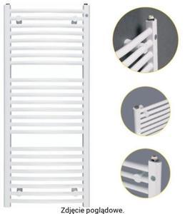 Grzejnik łazienkowy OMEGA R 500/1574 biały INSTAL-PROJEKT OMER-50/160D50 - 2855555443