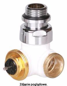 Zawór termostatyczny trójosiowy biały, lewy TERMA TGZTBI002 - 2847739851