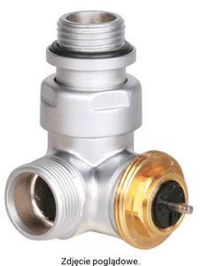 Zawór termostatyczny trójosiowy prawy, satyna TERMA TGZTST004 - 2847739853