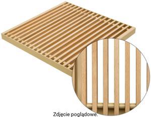 Podest drewniany rolowany 1000 mm SOLO REGULUS Buk250L/11-listwa - 2823578425