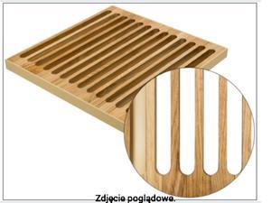 Podest drewniany rolowany 1000 mm DUBEL REGULUS Dąb400K/17-kość - 2823578439