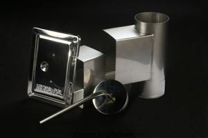 Wyczystka komina z drzwiami i odskraplaczem fi110 KRZYS-POL SJBWD110 - 2847740523