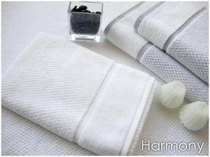 Harmony Biały ręcznik żakardowy GRENO - biały - 2850800321