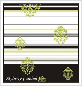 STYLOWY ZIELONY Koc Magic Nights Greno - 2841981526
