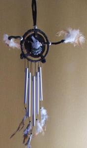 Dzwonek rurowy z wilkiem - 2822816430