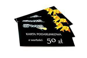 Karta Podarunkowa o wartości 50zł - 2822295934