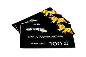 Karta Podarunkowa o wartości 100zł - 2822295935