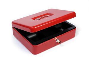 Kasetka na pieniądze czerwona HF - 2847761096