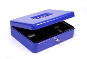 Kasetka na pieniądze niebieska HF - 2847761097