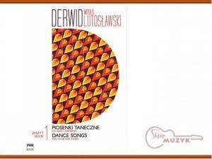 Derwid. Piosenki taneczne 1, Witold Lutos - 2832618121