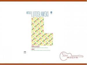 Abecadło + CD , Witold Lutosławski