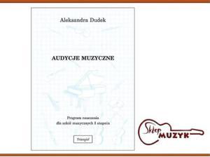 Audycje muzyczne. Program nauczania dla szk - 2834481262