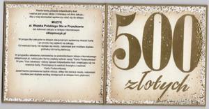 Świąteczna Karta podarunkowa 500zł - 2843672233