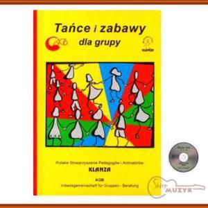Klanza - Tańce i zabawy dla grupy + CD - 2832617507