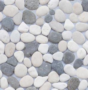 Barwolf PM-0006 mozaika kamienna z otoczaków 30 x 30 cm - 2822907223