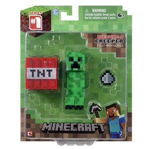Figurka Minecraft Creeper + akcesoria - 2847606926