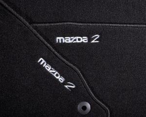 dywaniki welurowe kpl Mazda 2 2007-2012 / Dywaniki welurowe Luxury / - 2827788588