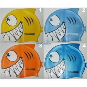Czepek do pływania AquaSpeed Shark - różne kolory - 2829000318