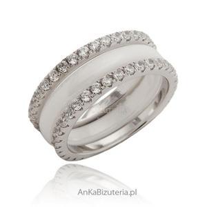 Biżuteria z ceramiki i srebra - 2835351696