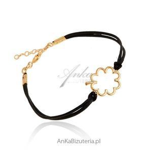 Biżuteria srebrna Bransoletka srebrna z koniczynką - 2835351611