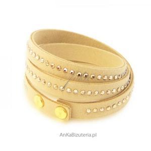 Biżuteria Swarovski Bransoletka - beżowa - 2835351678