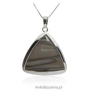 Wisior srebrny z krzemieniem pasiastym - 2835353320