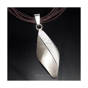 WISIOR srebrny duży. Klasyczna biżuteria srebrna - 2852611225