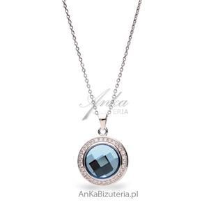 Naszyjnik srebrny Swarovski CHESSBOARD CIRCLE - 2835352815