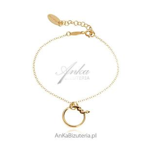Bransoletka srebrna Modna biżuteria - 2835351779