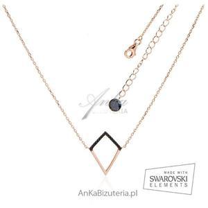 Biżuteria Hiszpania - Naszyjnik srebrny pozłacany -Ekskluzywna kolekcja - 2835351565