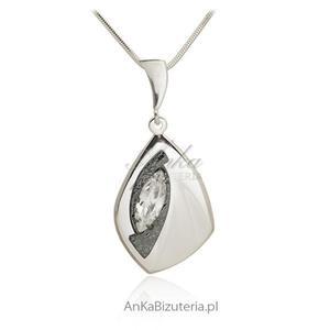 Zawieszka srebrna z cyrkonią - 2835353440