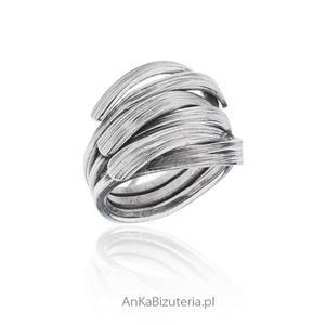 Pierścionek srebrny ORYGINALNA BIZUTERIA - 2835353006
