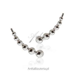 Kolczyki srebrne NAUSZNICE -Zachwycające kolczyki ! - 2842072745