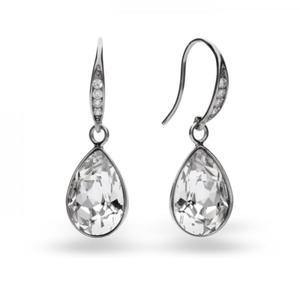 Kolczyki srebrne z kryształami Swarovski - 2843480001