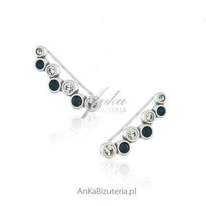Modna biżuteria srebrna Nausznice kolczyki - 2847371824