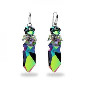 Biżuteria Swarovski Kolczyki - Kaputt Scarabaeus Green i Paradise Shine J.P.Gaultiera - 2848115795