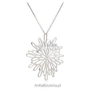 Naszyjnik srebrny Modna biżuteria srebrna - 2850668042