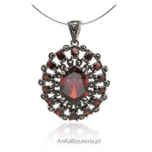 Oryginalna zawieszka srebrna Piękna biżuteria damska - 2852734176