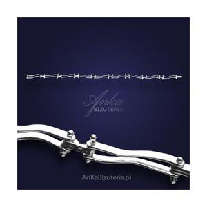 Klasyczna Bransoletka srebrna - zawsze modna - 2835352102