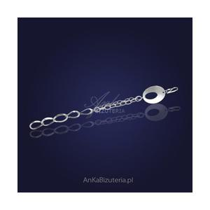 Bransoletka srebrna Biżuteria na Prezent - 2835351760