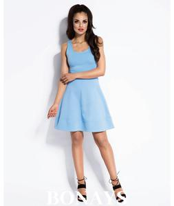 Sukienka Pamel 103-niebieski 103-niebieski, Rozmiar: L Wysy - 2859493258