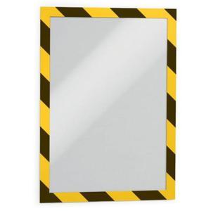 Ramka magnetyczna samoprzylepna DURAFRAME SECURITY A4 dwukolorowa żółto-czarna 2 szt. 4944 130 - 2832519100