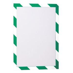 Ramka magnetyczna samoprzylepna DURAFRAME SECURITY A4 zielono-biała 2 szt. 4944 131 - 2832519101
